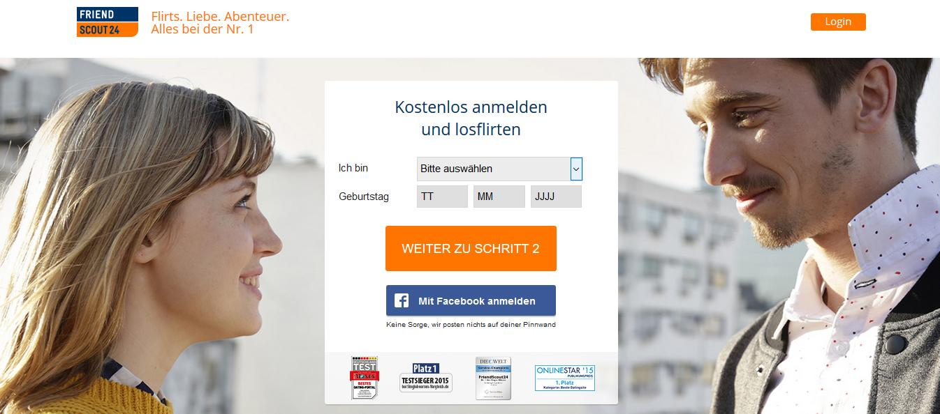Dating-Website im Ausland