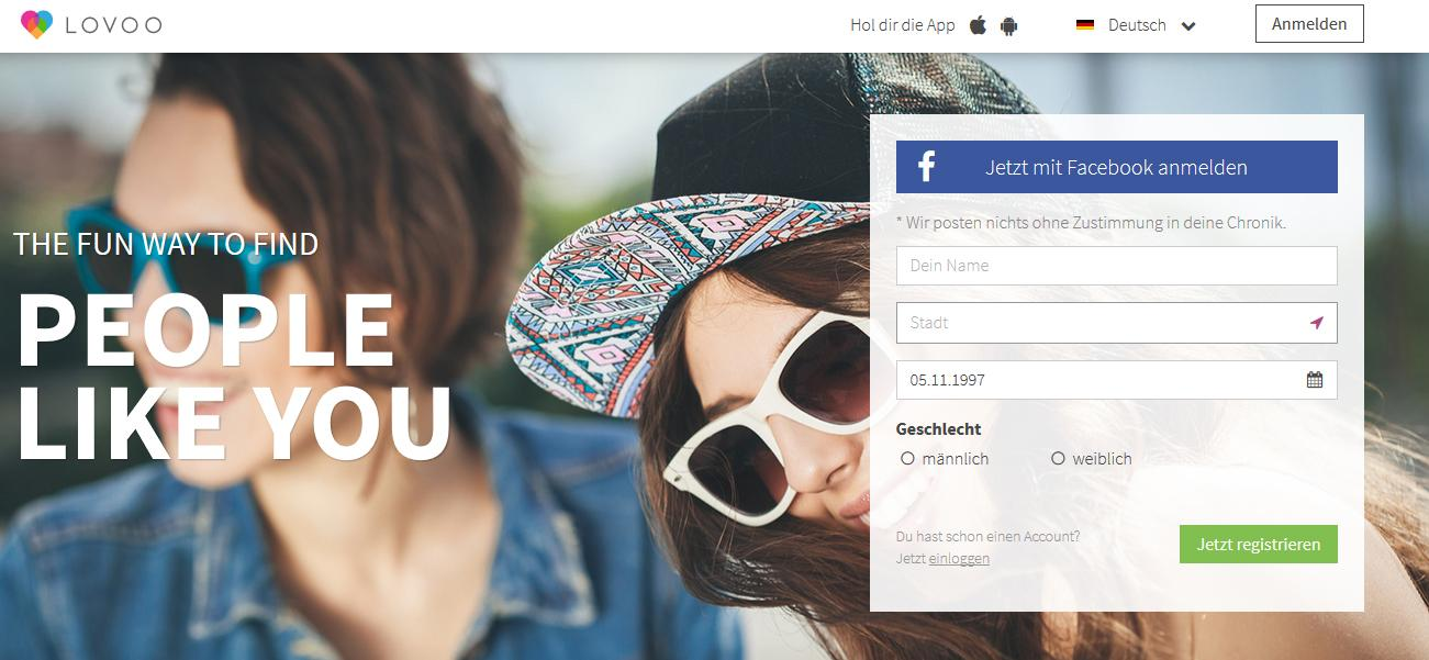 Die Website der Dating-Website ist gehackt