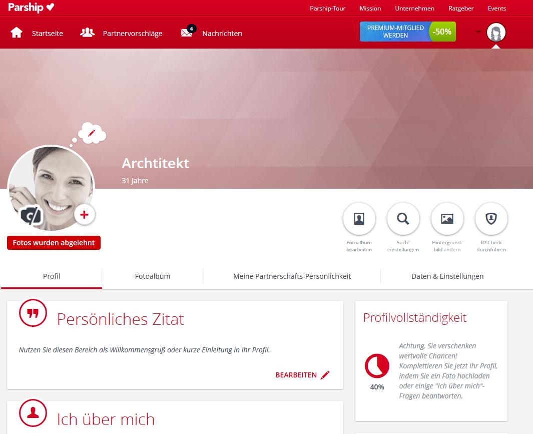Parship Profil